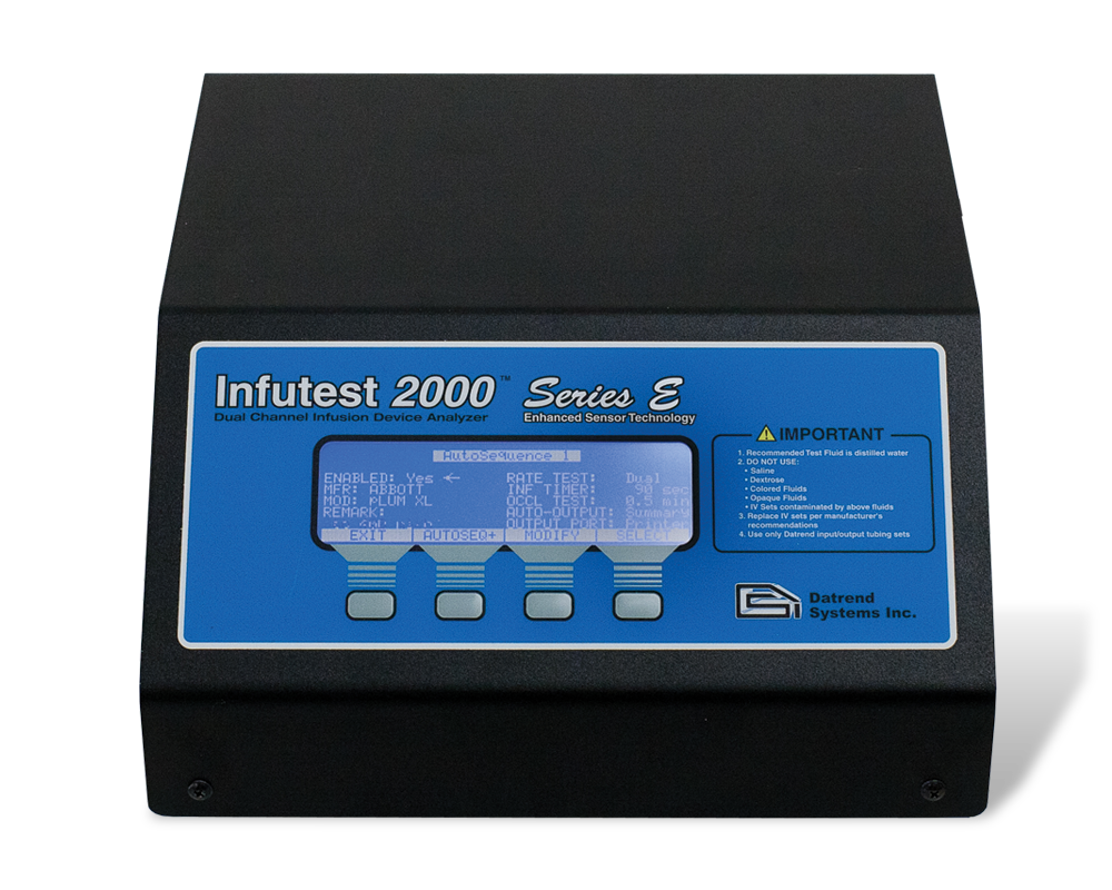 Datrend Systems Infutest 2000